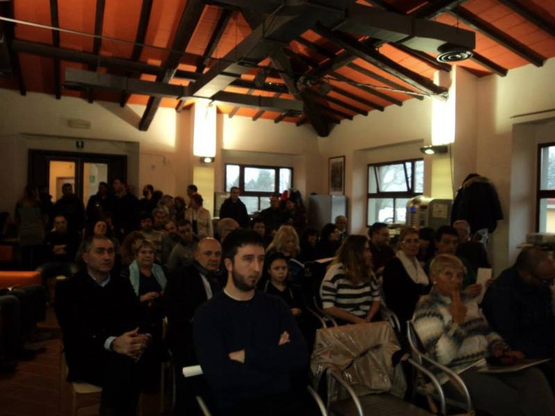 Parte del numeroso pubblico intervenuto alla cerimonia