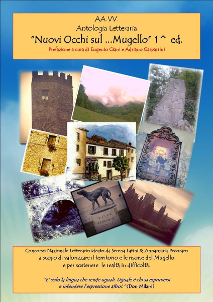 Copertina dell\'antologia del Premio