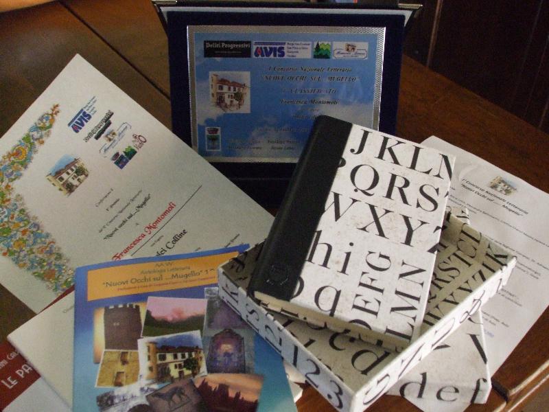 Targa, diploma e premi accessori